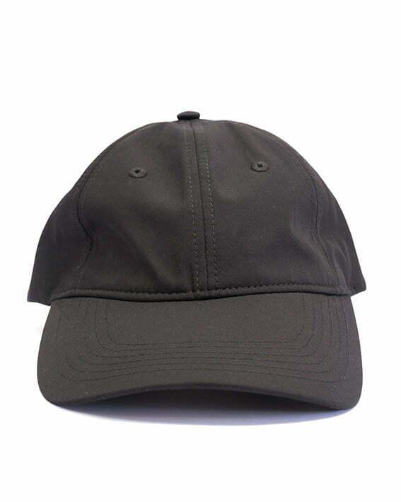 bamboo bliss baseball cap black front shot