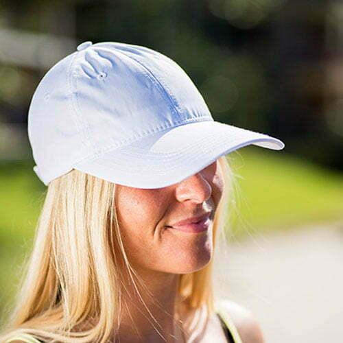 bamboo bliss baseball cap white 1
