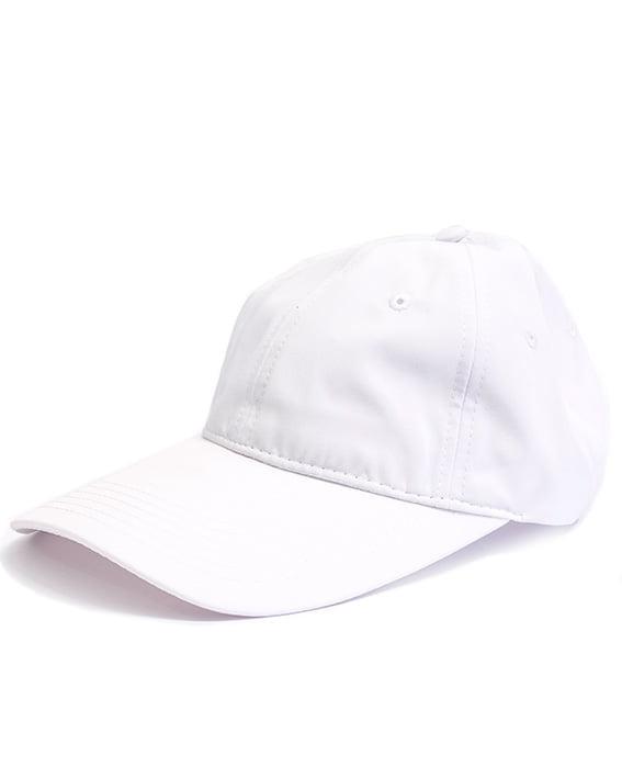 bamboo bliss baseball cap white