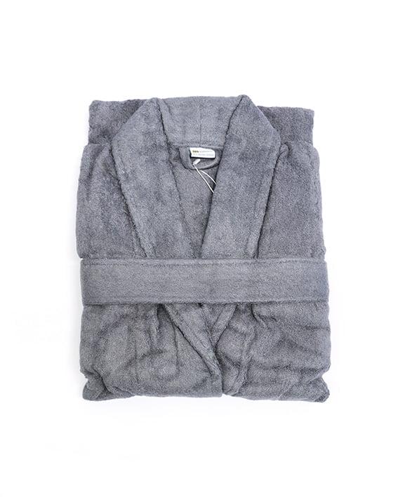bamboo bliss bathrobes gray 2