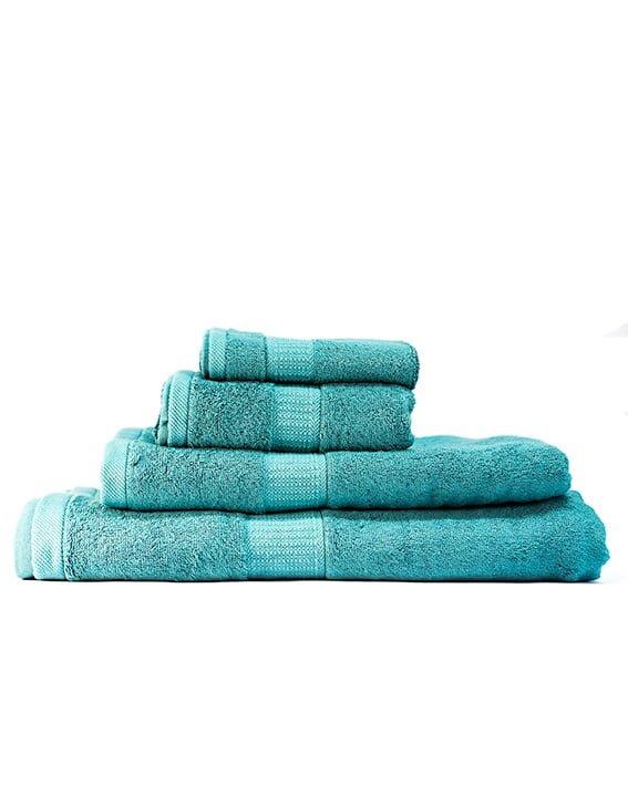 bamboo bliss towel bundle aqua