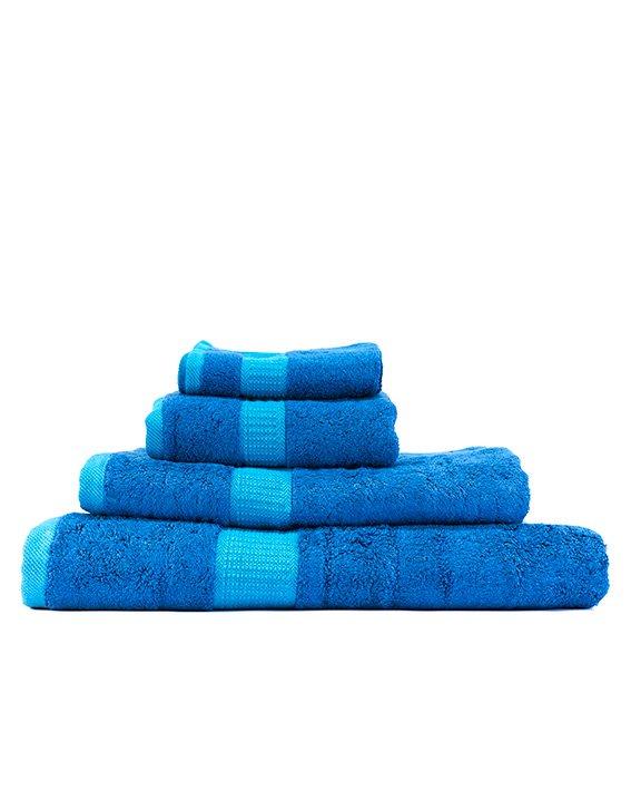 bamboo bliss towel bundle blue
